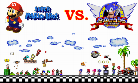 Sonic Vs Mario Planète Sonic